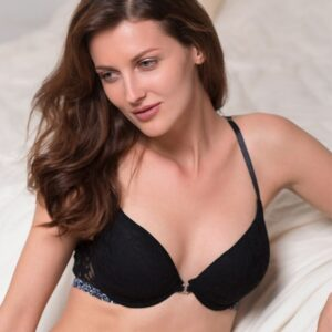 Lace Medium Coverage Front Open Bra Pakistan