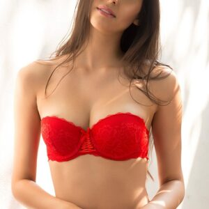 Lace Moderate Push UP Strapless Bra Pakistan