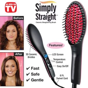 simply straight hair brush pakistan