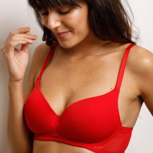 Lightly Padded Non Wired T Shirt Bra Pakistan