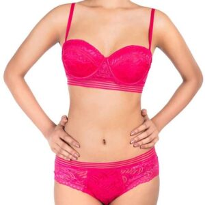 Sparkle Lace Bra Set Pakistan