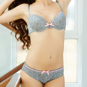 Round Cup Padded Bra Set Pakistan
