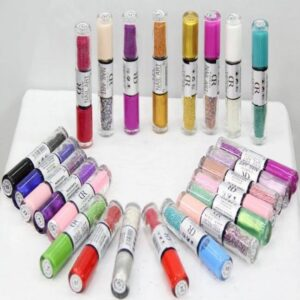 24 Nail Art Nail Polish Set Pakistan