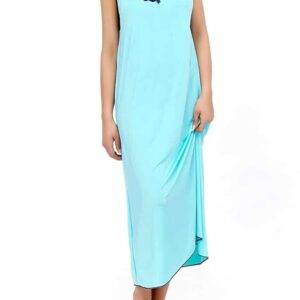 Lace Neck Nighty Gown Pakistan