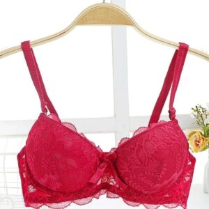 Floral Lightly Padded Wired Bra Pakistan