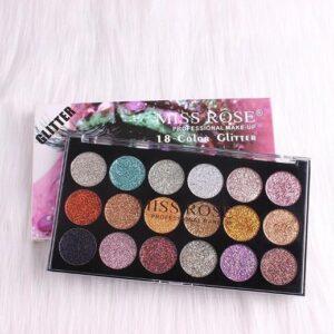 Miss Rose Glitter Eyeshadow Palette Pakistan